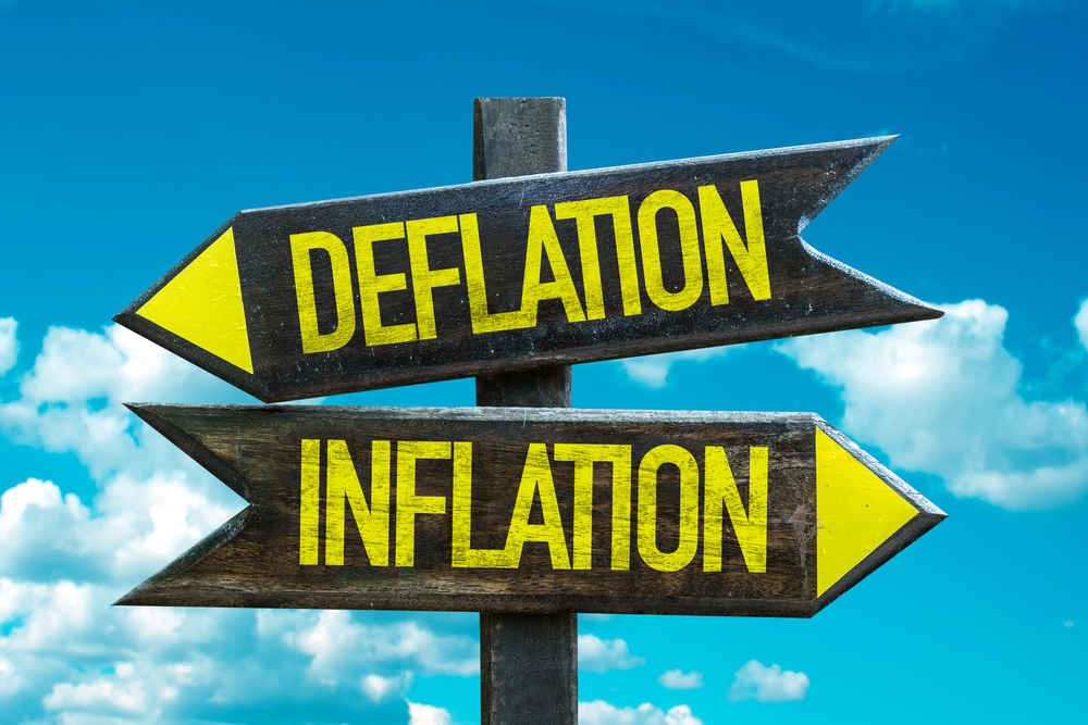 cryptocurrency inflation v deflation