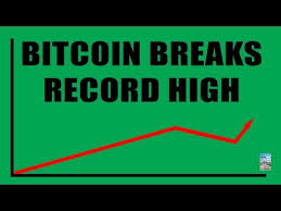 Bitcoin Cryptocurrency Breaks New Record High