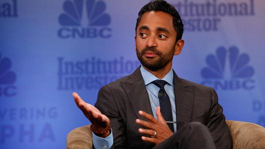 Early bitcoin investor Palihapitiya declares 'nobody can stop it'