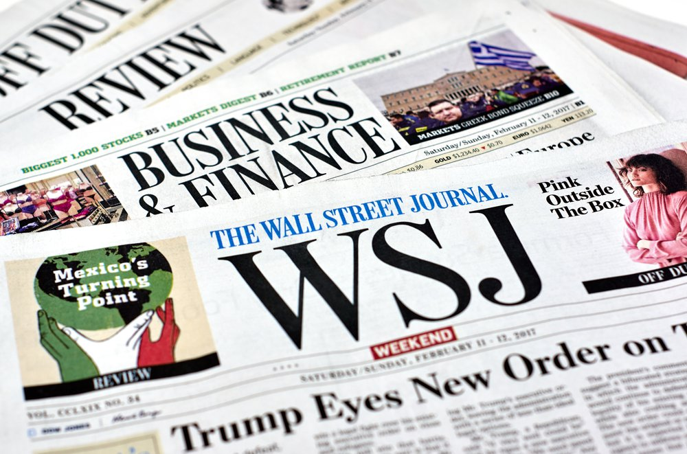 "Wall Street Journal Argues Bitcoin Is ""Probably worth Zero"", Joins Obituary List"