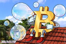 Bitcoin's nearly five-fold climb in 2017 looks very similar to tech bubble surge