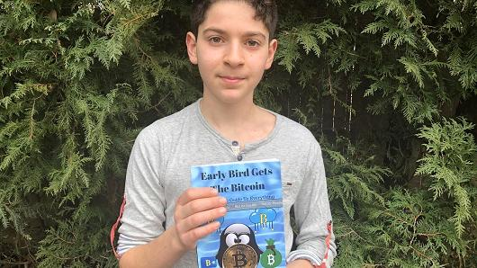 This 11-year-old just wrote a book on bitcoin that hopefully a kid can understand