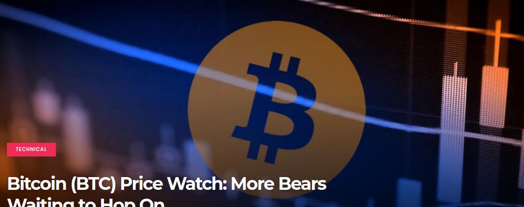 Bitcoin (BTC) Price Watch - More Bears Waiting to Hop On