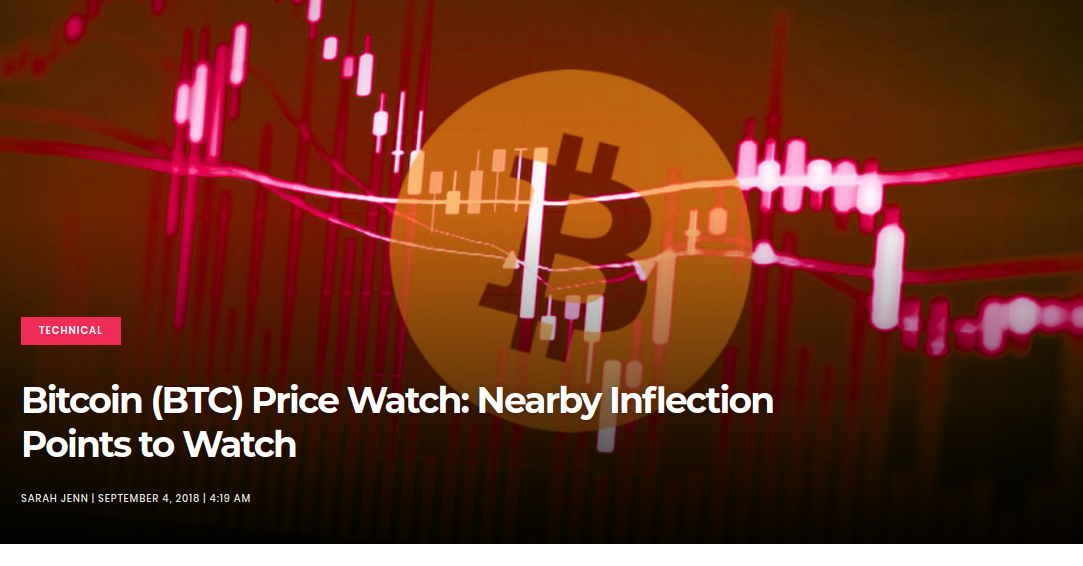 Bitcoin (BTC) Price Watch- Nearby Inflection Points to Watch
