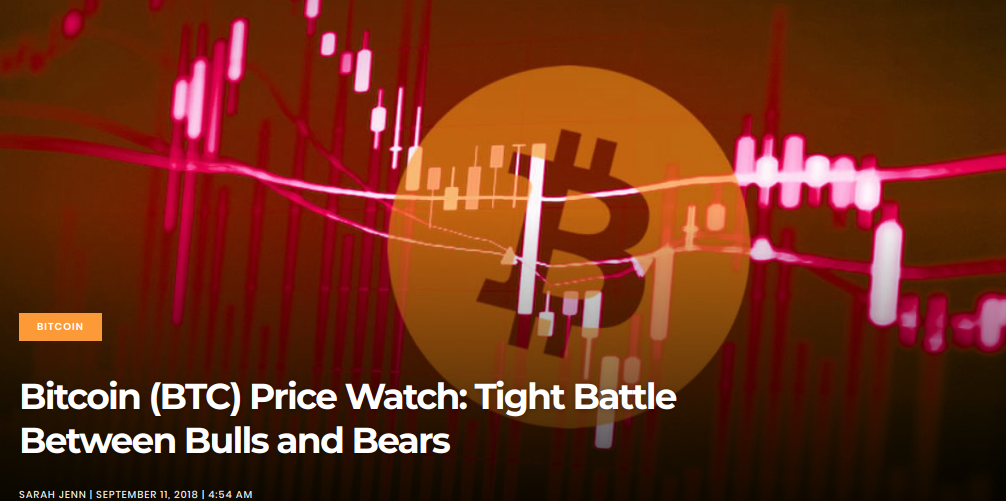 Bitcoin (BTC) Price Watch - Tight Battle Between Bulls and Bears