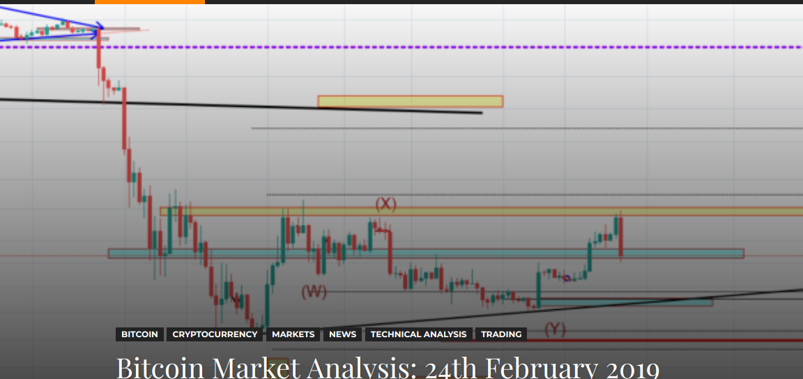 Bitcoin Market Analysis: 24th February 2019